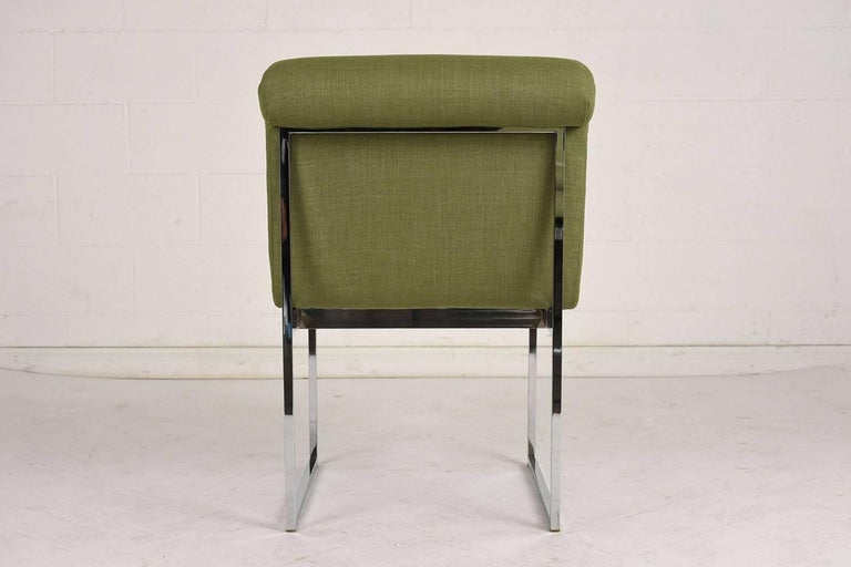 20th Century Set of Six Milo Baughman Dining Chairs For Sale