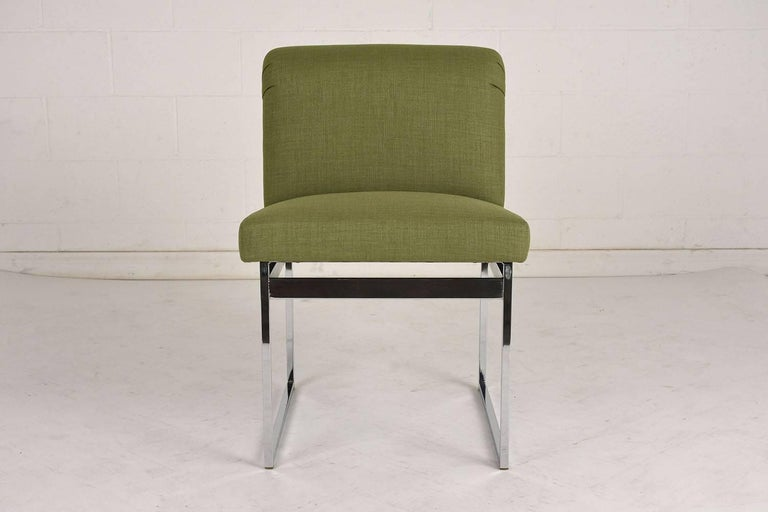 Set of Six Milo Baughman Dining Chairs In Excellent Condition For Sale In Los Angeles, CA