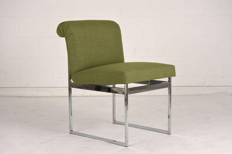 American Set of Six Milo Baughman Dining Chairs For Sale