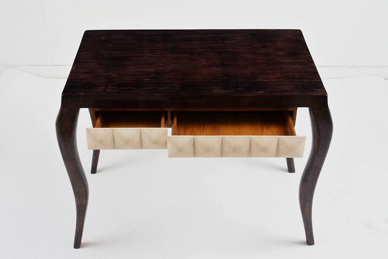 Wood R & Y Augousti Modern-Style Dressing Table and Bench Set For Sale