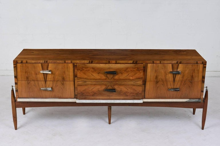 Mid-Century Modern Pair of 1960s Modern Style  Italian Credenzas For Sale