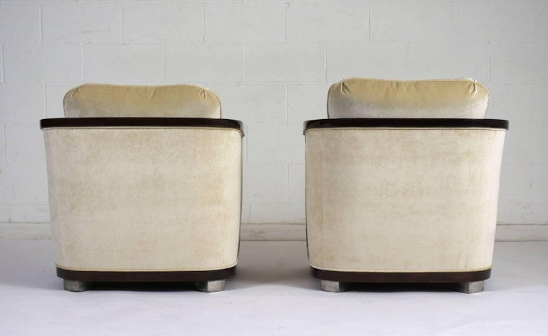 20th Century Pair of Art Deco Club Chairs For Sale