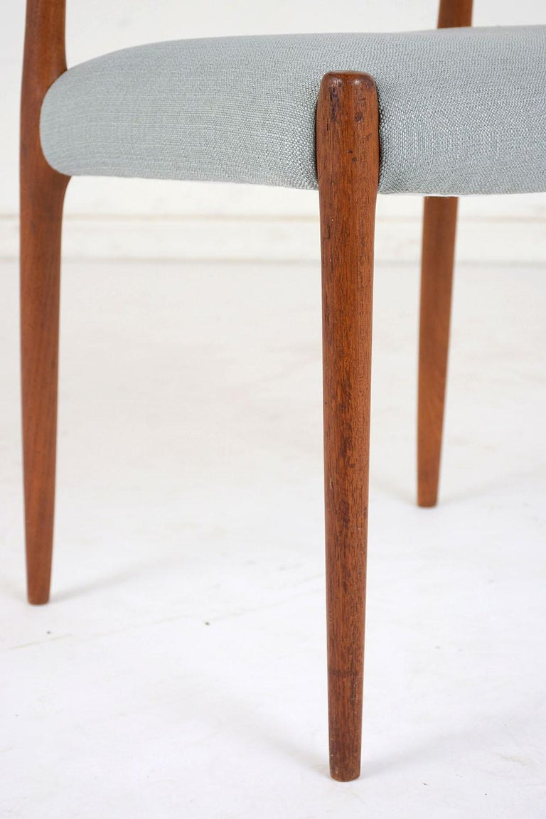 Set of Six Mid-Century Modern Niels Otto Moller Dining Room Chairs For Sale 2