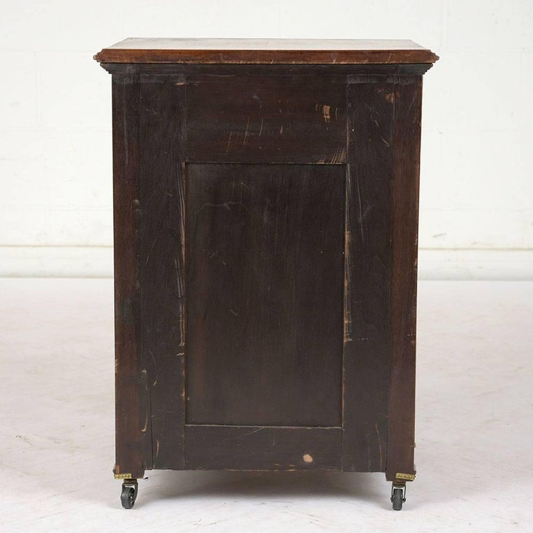 19th Century French Louis XVI-Style Nightstand For Sale 1
