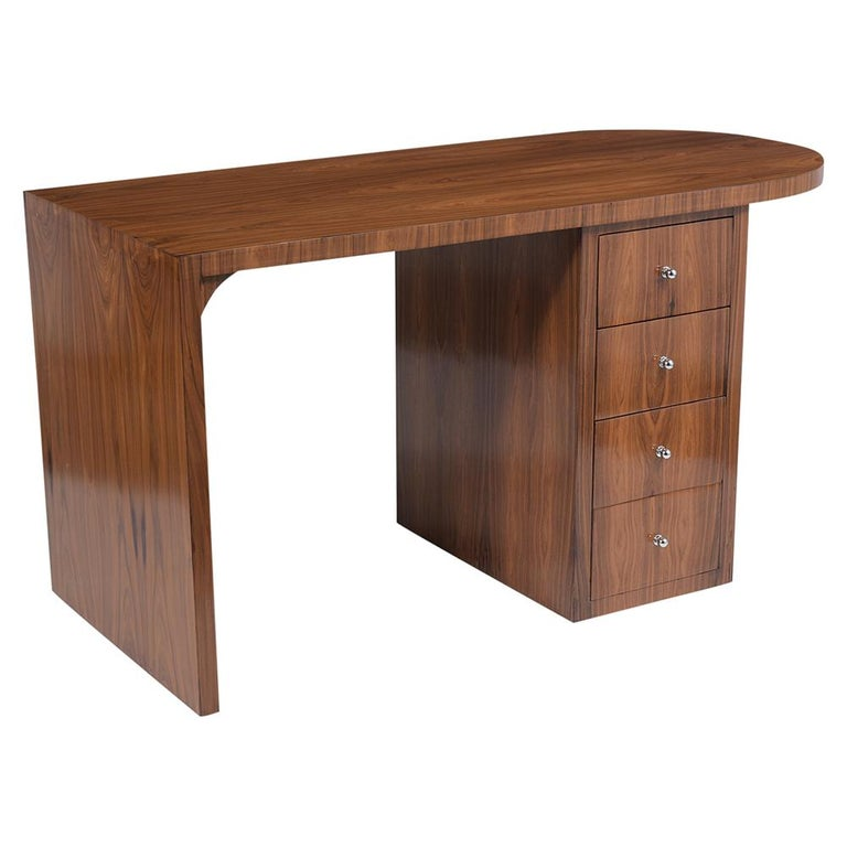 French 1960s Art Deco Desk For Sale 1