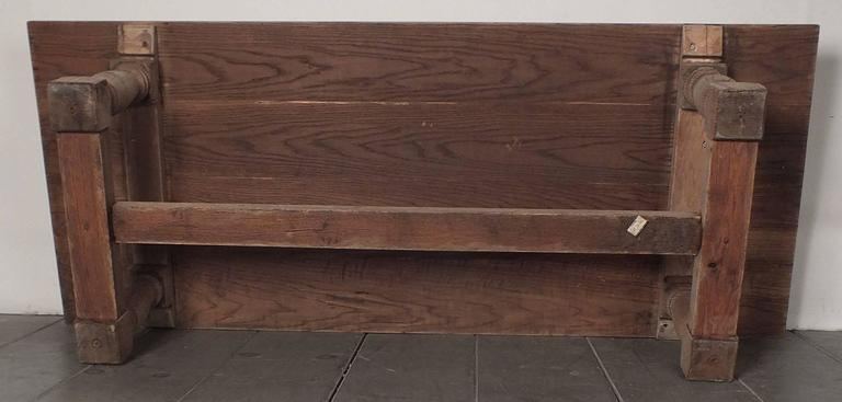 1950 S Wood Furniture ~ Vintage s bleached wood coffee table at stdibs