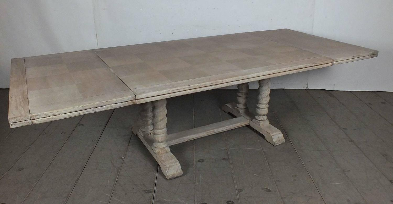 Vintage spanish colonial painted dining table for sale at for 108 inch dining room table