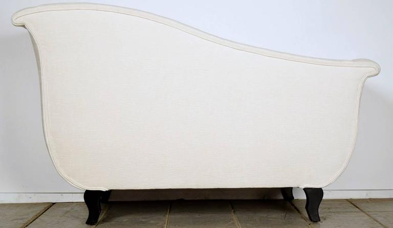 Antique french empire chaise longue or settee for sale at for Antique french chaise longue