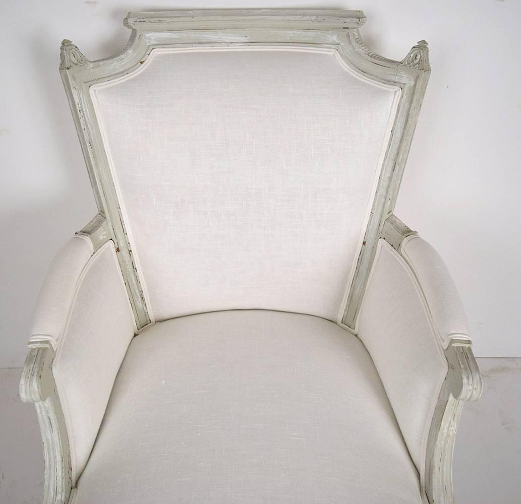 French antique louis xvi chaise lounge for sale at 1stdibs for Chaise louis xvi