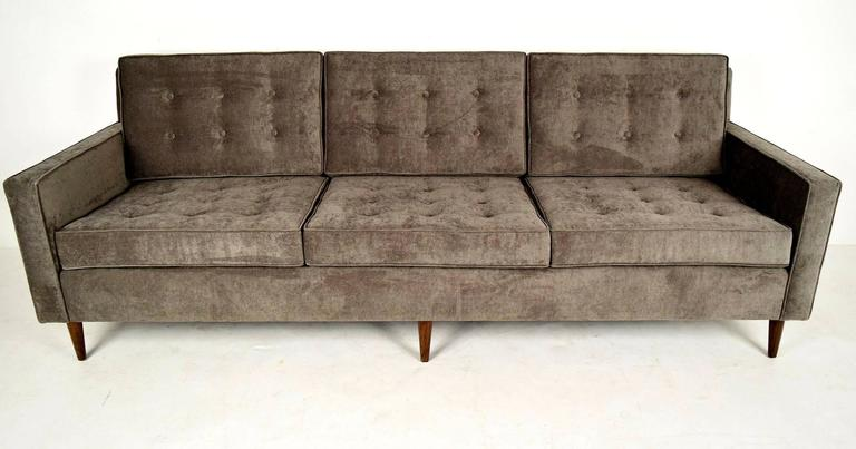 Vintage mid century modern sofa for sale at 1stdibs for Mid century modern sofa for sale