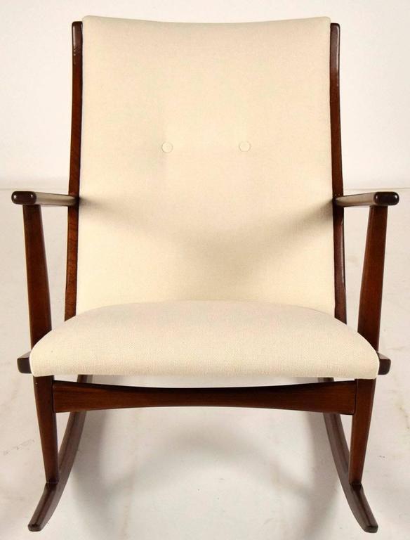Boomerang Rocking Chair by Søren Georg Jensen for Kubus, 1960s 2