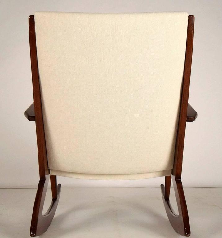 Boomerang Rocking Chair by Søren Georg Jensen for Kubus, 1960s 6