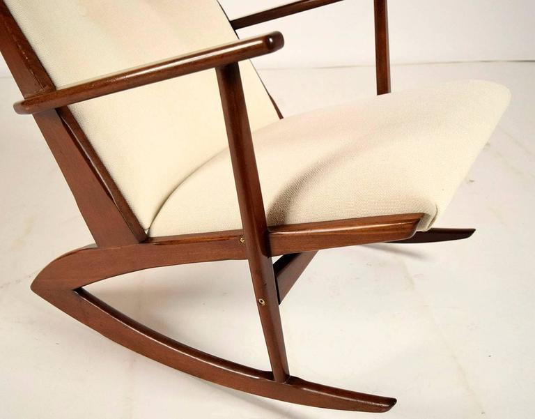 Boomerang Rocking Chair by Søren Georg Jensen for Kubus, 1960s 5