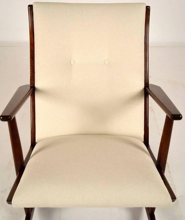 Boomerang Rocking Chair by Søren Georg Jensen for Kubus, 1960s 3
