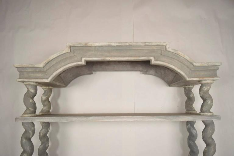 Italian Baroque Carved Wood Etagere 3