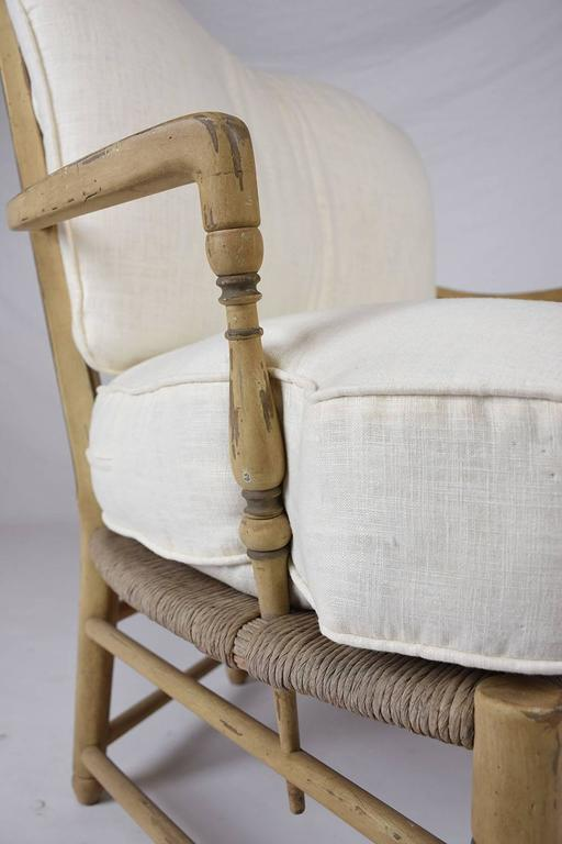 20th Century  Pair of French Provincial Settees For Sale