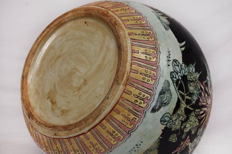 Large Oriental Porcelain Vase For Sale 3