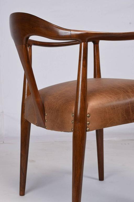 Mid century modern scandinavian armchair at 1stdibs for Mid century modern armchairs