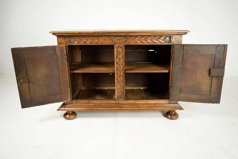 Walnut Late 18th Century French Provincial Style Sideboard For Sale