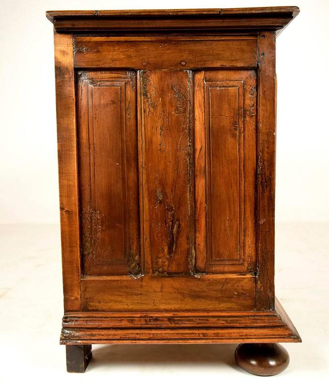Carved Late 18th Century French Provincial Style Sideboard For Sale