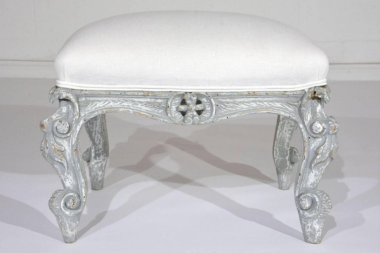 Remarkable White Distressed Painted Furniture