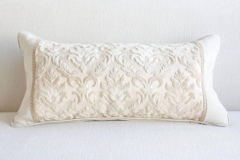Pair of Louis XVI-Style Throw Pillows For Sale 5
