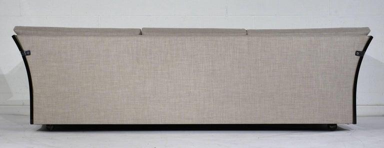 Mid-Century Modern Milo Baughman Lucite Side Sofa For Sale 2