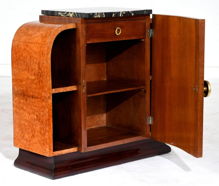 unique french art deco nightstand for sale at 1stdibs