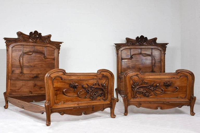 Exquisite early 20th century art nouveau bedroom set for for Bedroom furniture 90036