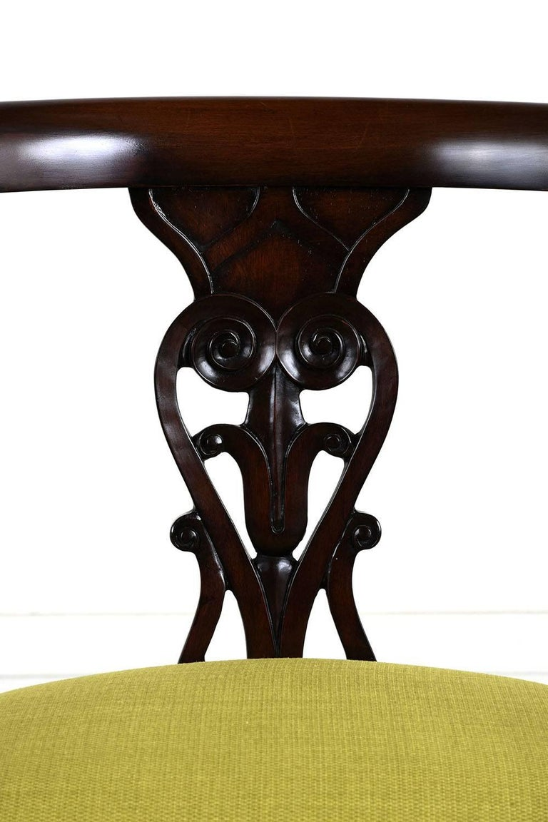 19th Century Set of Four Hollywood Regency Chairs For Sale