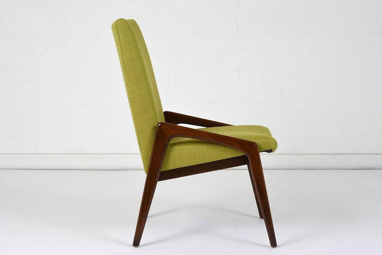 Set of Four Dining Chairs by Kai Kristiansen In Excellent Condition For Sale In Los Angeles, CA