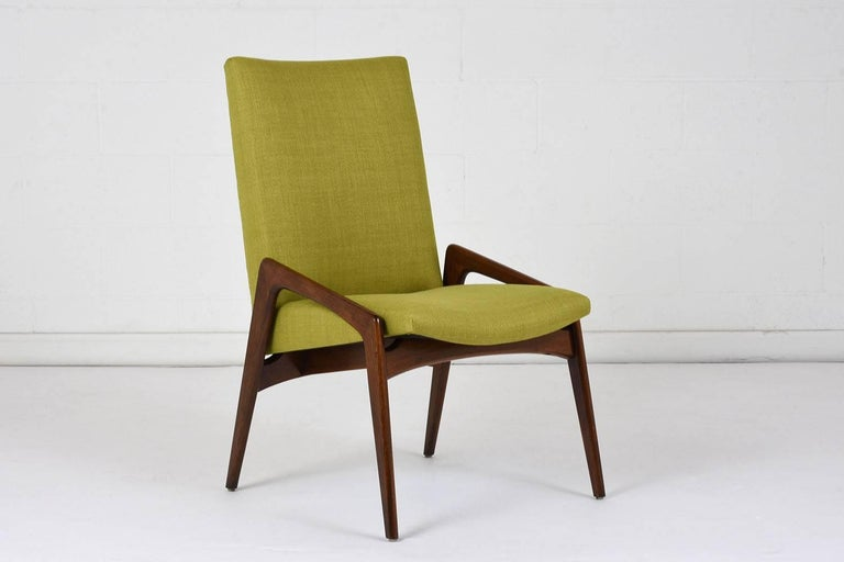 Carved Set of Four Dining Chairs by Kai Kristiansen For Sale