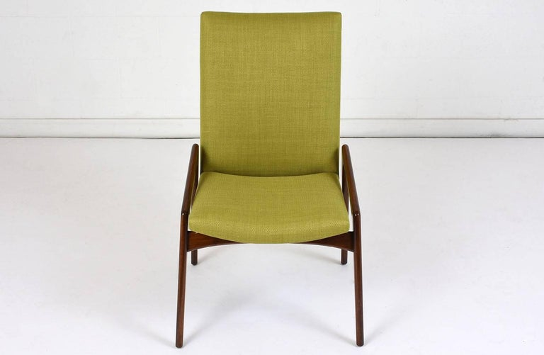 Danish Set of Four Dining Chairs by Kai Kristiansen For Sale