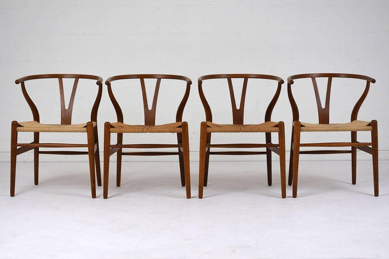 Mid-Century Modern Set of Four Midcentury Danish Dining Chairs For Sale