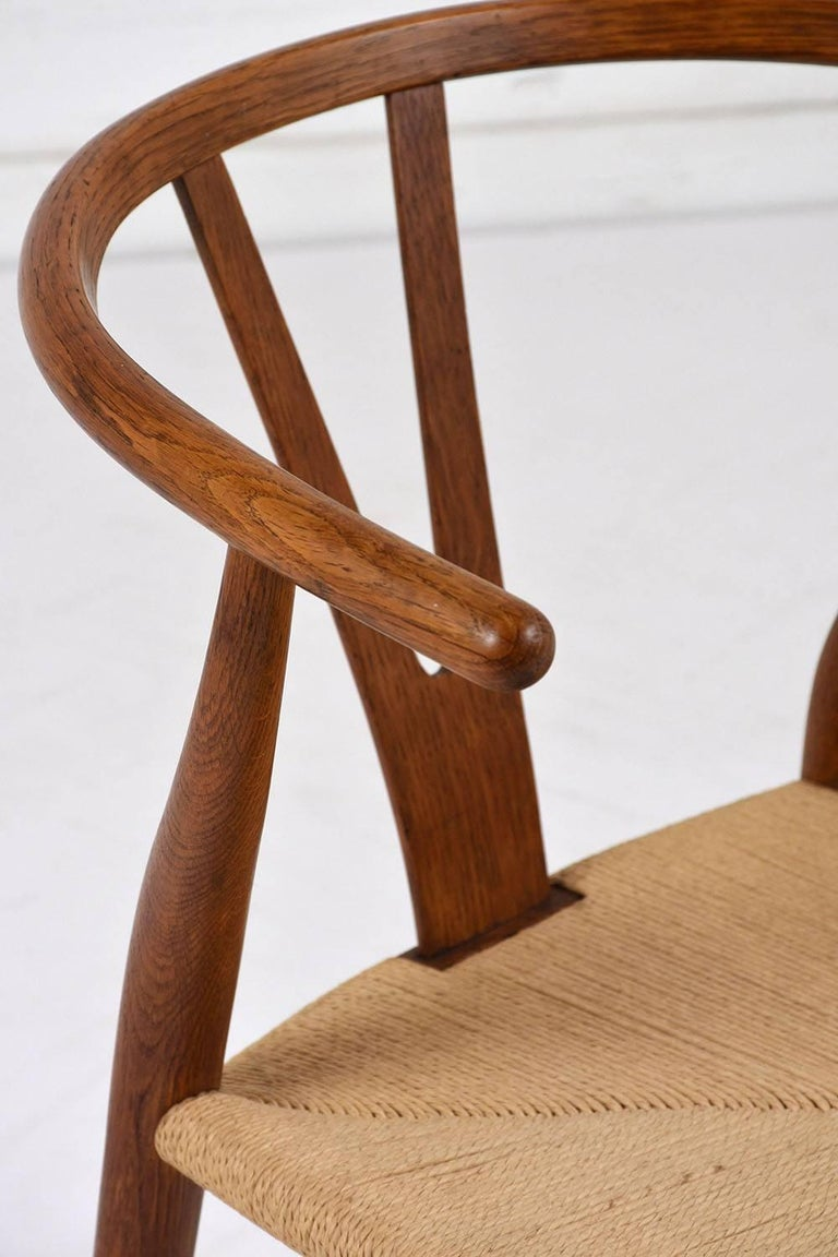Set of Four Midcentury Danish Dining Chairs For Sale 2