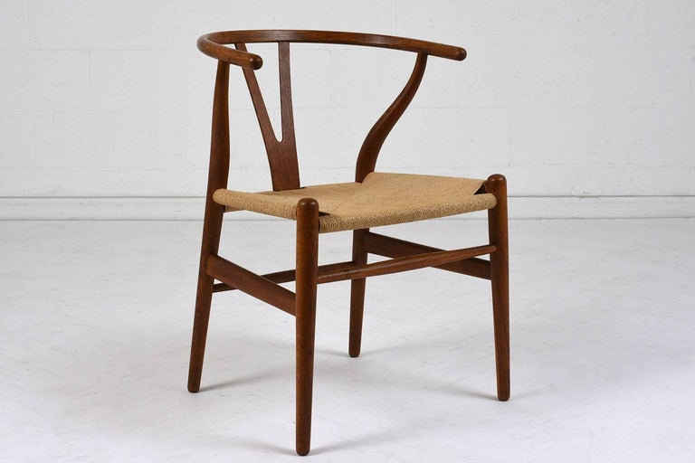 Textile Set of Four Midcentury Danish Dining Chairs For Sale