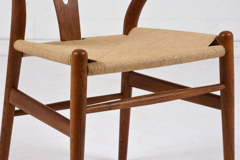 Set of Four Midcentury Danish Dining Chairs For Sale 1
