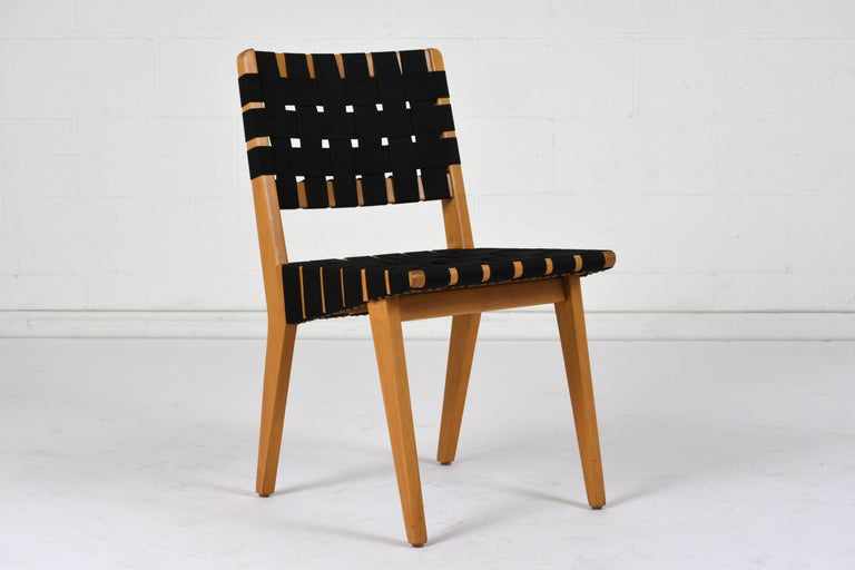 Set of Four Mid-Century Modern Klaus Grabe-Style Dining Chairs For Sale 1
