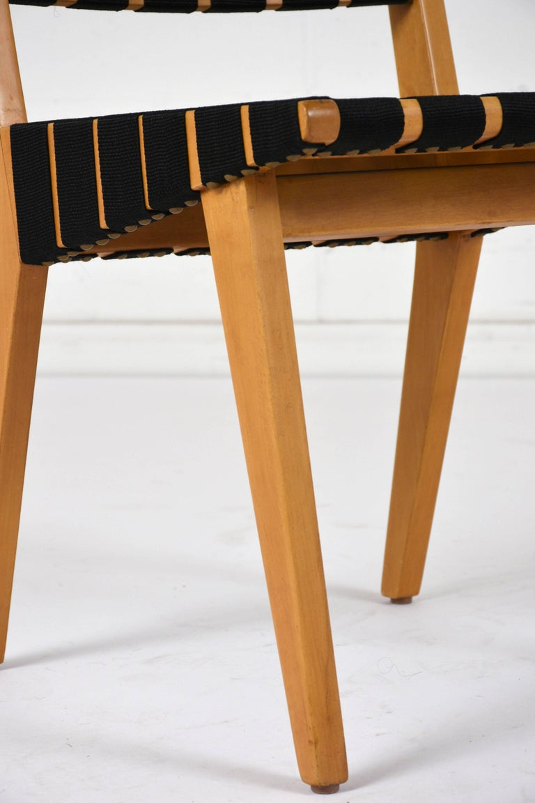Set of Four Mid-Century Modern Klaus Grabe-Style Dining Chairs For Sale 2