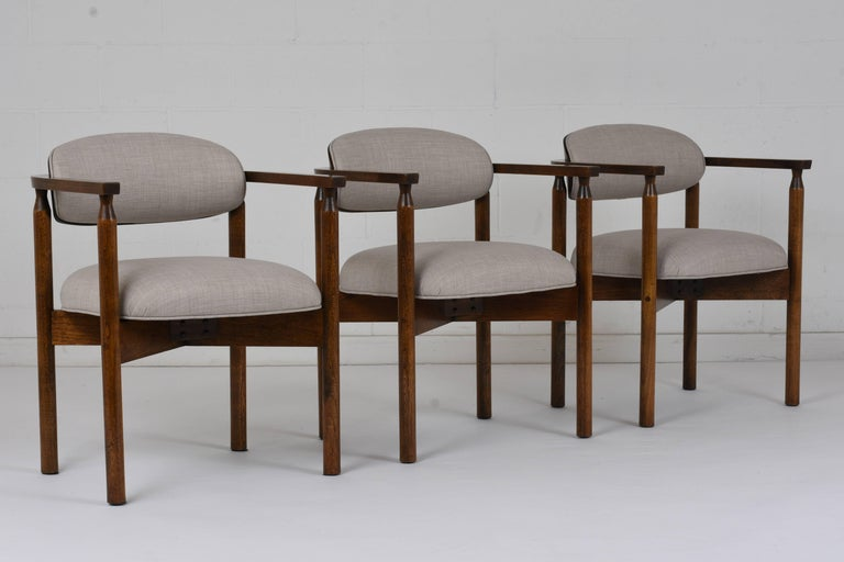 American Set of Six Midcentury Dining Chairs For Sale
