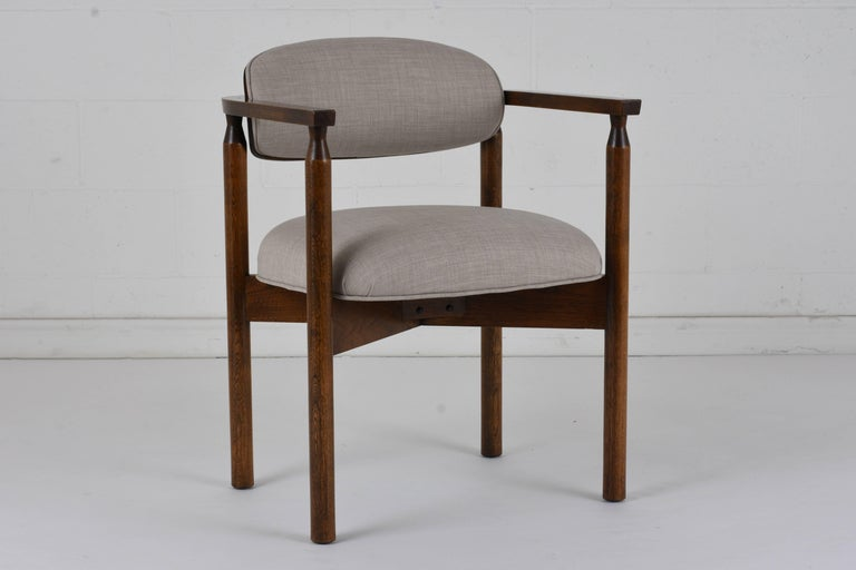 20th Century Set of Six Midcentury Dining Chairs For Sale