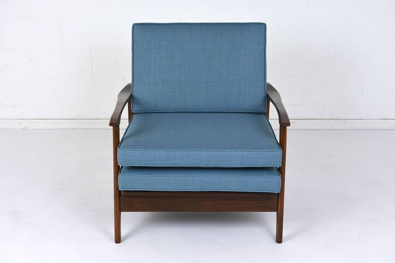 Mid-20th Century Mid-Century Modern Reclining Lounge Chair For Sale
