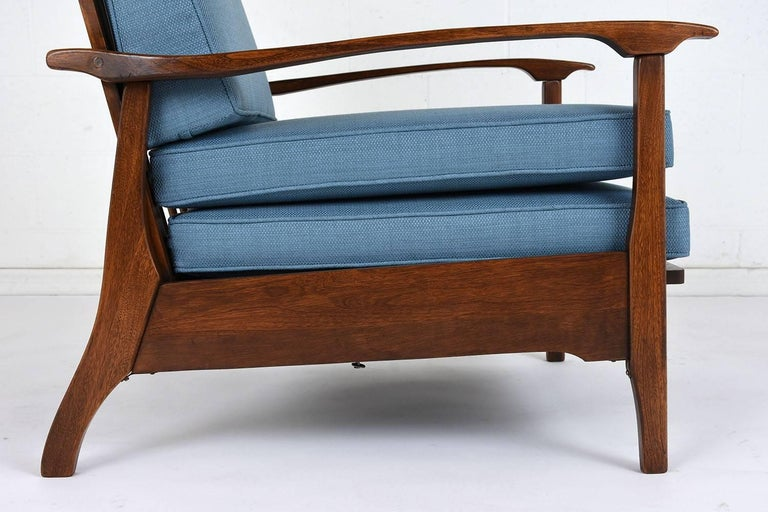 Mid-Century Modern Reclining Lounge Chair For Sale 2