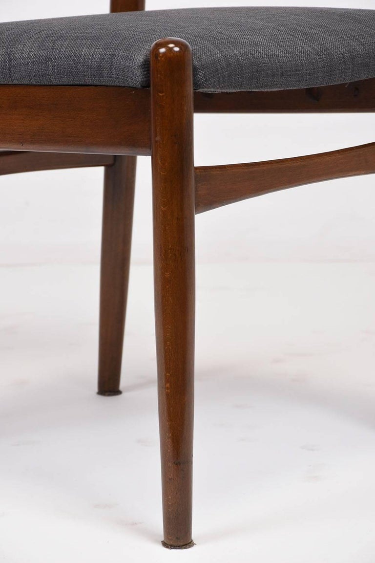 Set of Six Danish Dining Chairs For Sale 3