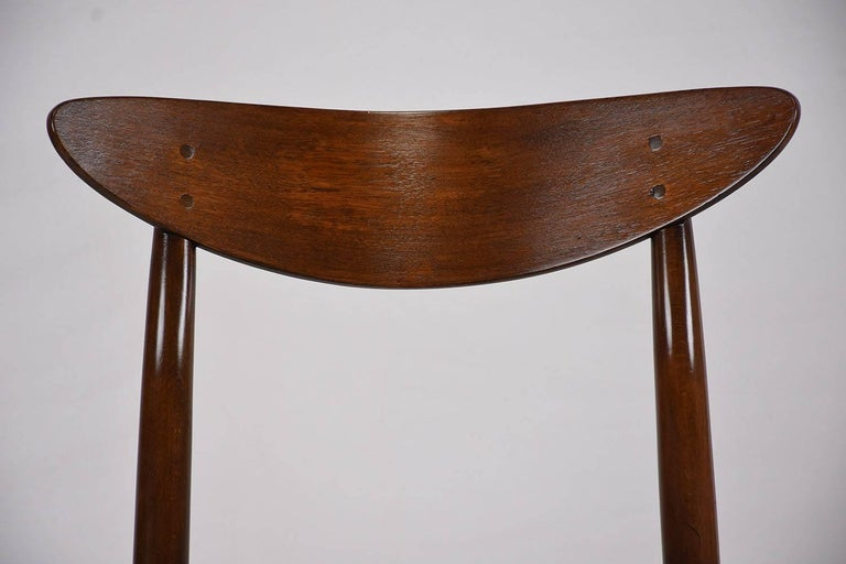 Set of Six Danish Dining Chairs For Sale 1