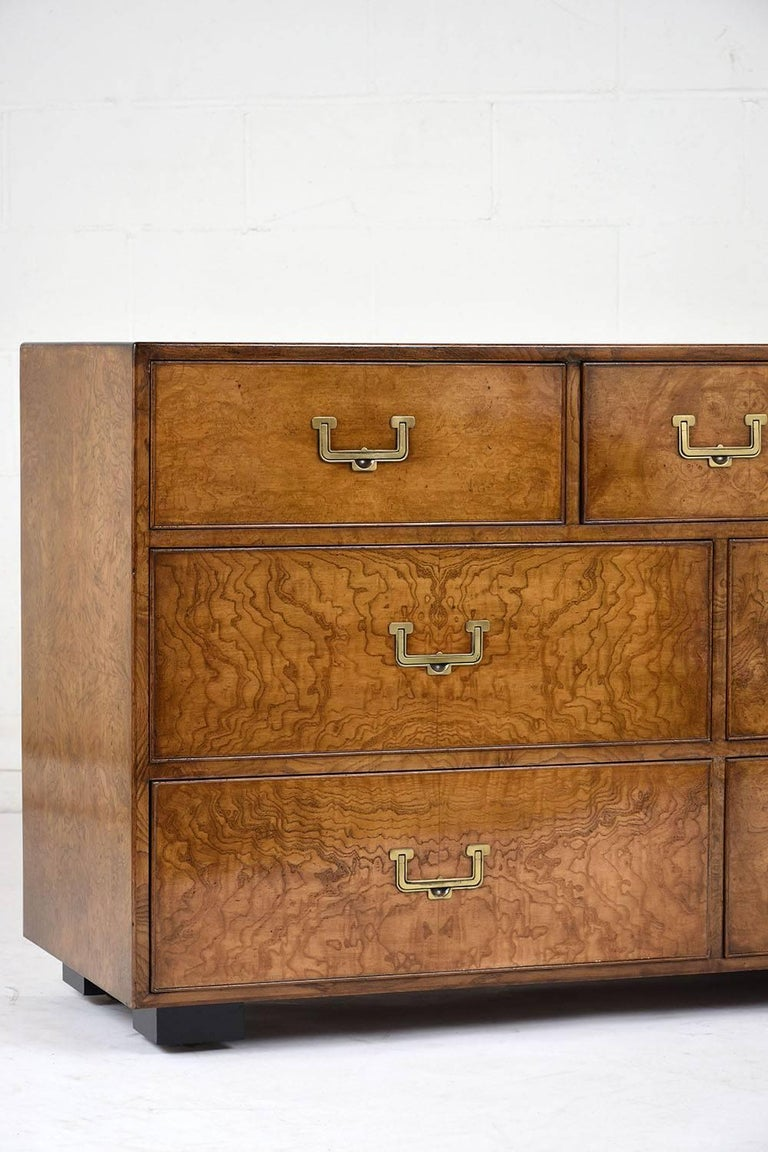 John Widdicomb Nine-Drawer Chest In Good Condition For Sale In Los Angeles, CA