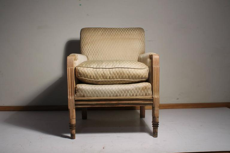 Art Deco Vintage French / American Deco Club Chair For Sale