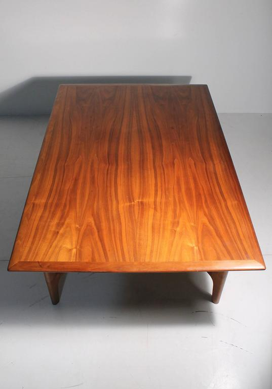 Danish Modern DUX Folke Ohlsson Coffee Table with X-Stretcher For Sale 2