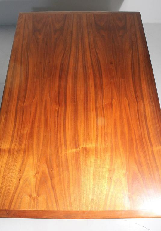 Danish Modern DUX Folke Ohlsson Coffee Table with X-Stretcher For Sale 3