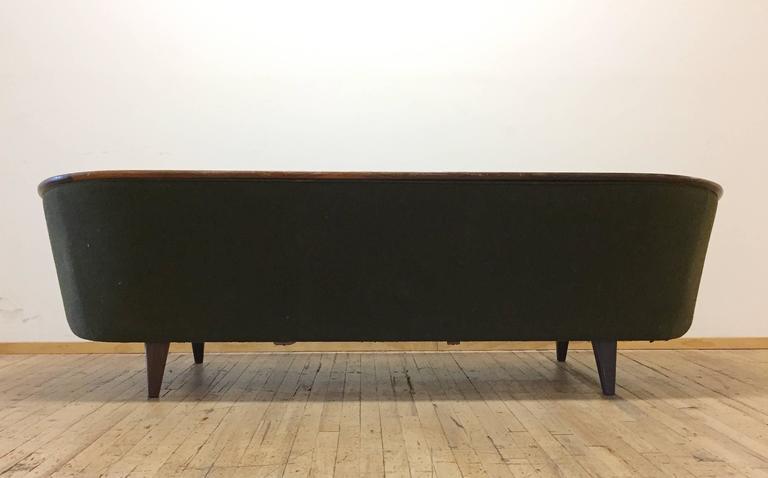 Rare Vintage Danish Modern Sofa By Pi Langlos Fabrikker, Stranda 2